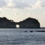 素晴らしき円月島と夕日の景色!
