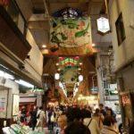 京都錦市場の食べ歩き、美味かった!たこタマゴとハチミツソフト