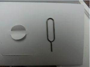 iPhone付属の ピン