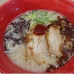 三井アウトレットパーク滋賀竜王で昼飯はフードコートで一風堂のラーメンを食べた