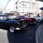 メルズドライブインの駐車場にクラシックカーが復活!