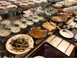 朝食バイキング_福井市マンテンホテル