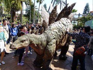 USJ_ダイナソー・アメージング・エンカウンターのステゴサウルス