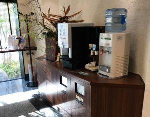 コーヒー_福井市マンテンホテル