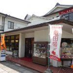 法隆寺のランチは柿うどんと柿の葉寿司