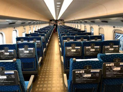 新幹線座席