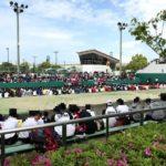 マリンパーク北村で2019年度大阪高等学校春季テニス大会(団体戦)本戦を観戦!
