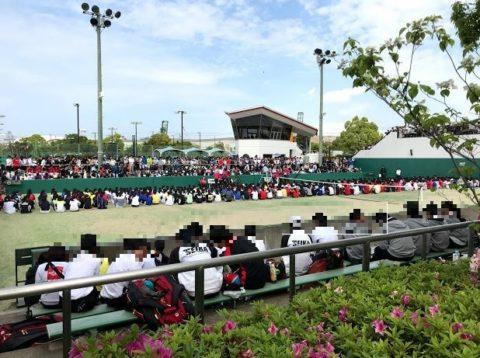 大阪高等学校春季テニス大会(団体戦)本戦