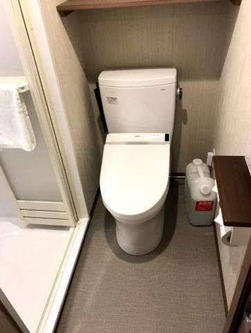 ドーミーイン福井のトイレ