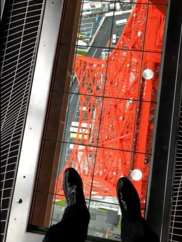 東京タワーメインデッキからの眺望