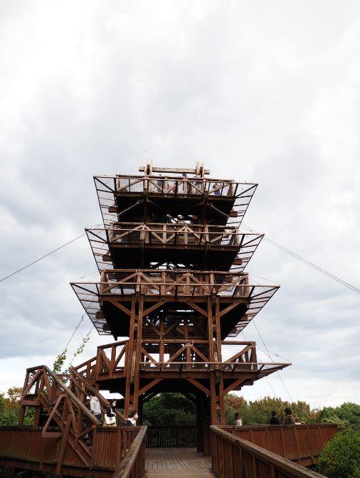 ソラードの展望台タワー