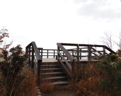 摂津峡散策ルート展望台