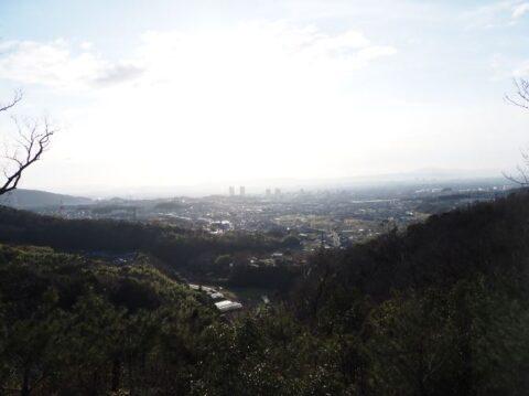 摂津峡からの眺望
